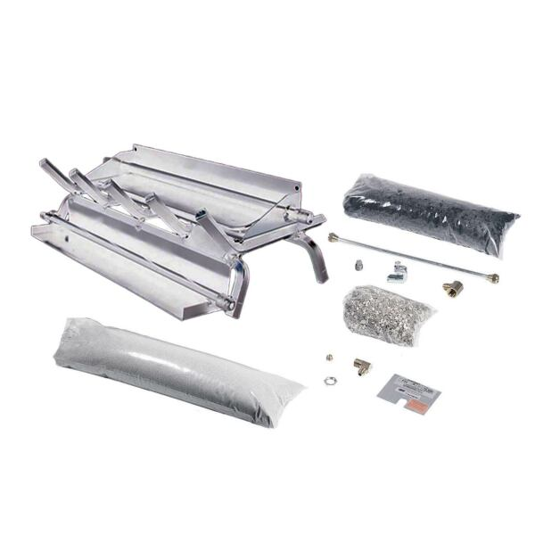 Rasmussen Stainless Steel Evening Series Multi-Burner and Grate Kit Propane 24