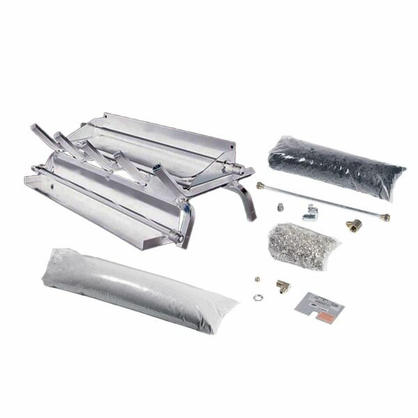 Rasmussen Stainless Steel Evening Series Multi-Burner and Grate Kit Propane 30