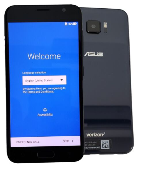 ASUS ZenFone 5 V A006 V520KL 32GB Black Verizon Unlocked Smartphone Cell Phone