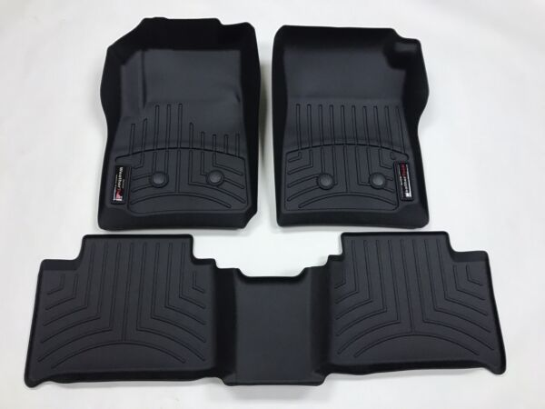 WeatherTech Custom Car/Truck Floor Mat FloorLiner 447511 - 447512 Front and Rear