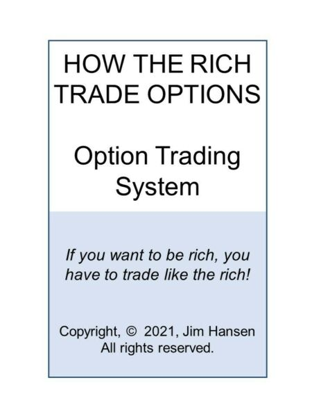 How The Rich Trade Options!  Their Secret Option Trading Strategy  System.
