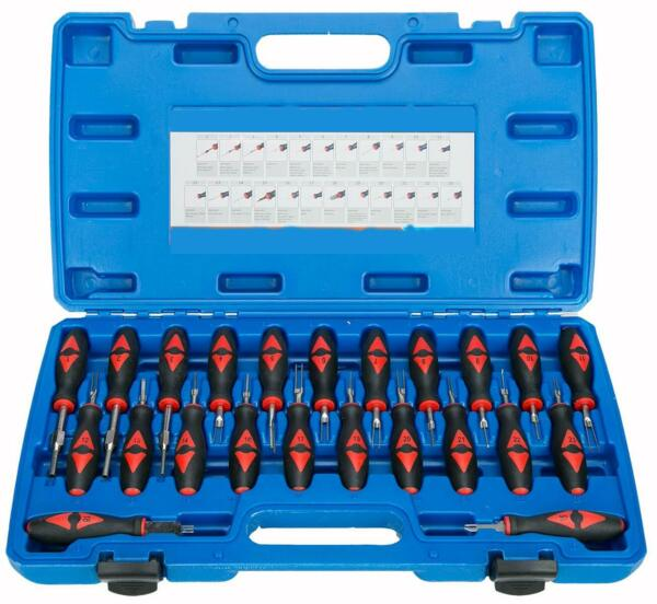 23 Piece Universal Terminal Release Kit Electrical Terminal Removal Tool Kit NEW