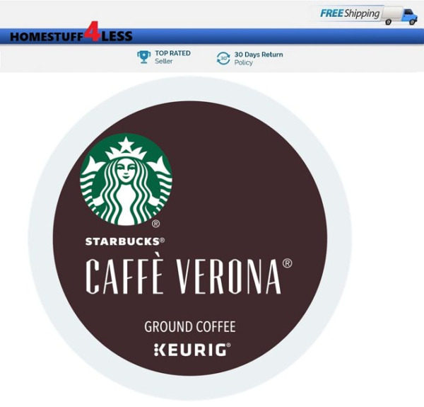 Starbucks Caffe Verona Keurig K-cups Coffee PICK THE SIZE