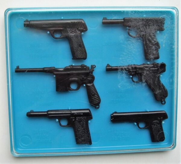 Soviet Vintage Pistols Models 1X4 Lot of 6 original box Mauzer Valter Brauning