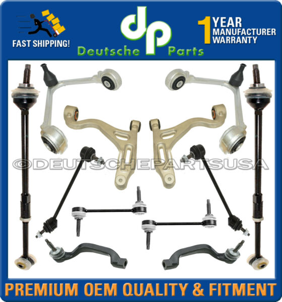 LINCOLN LS Front Rear Control Arm Sway Bar Link Tie Rod Suspension Kit Set 12pc