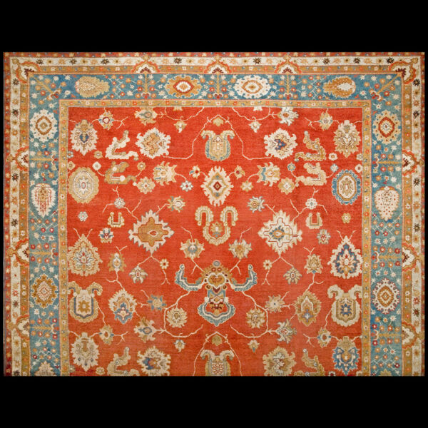 Antique Oushak Rug 16'6