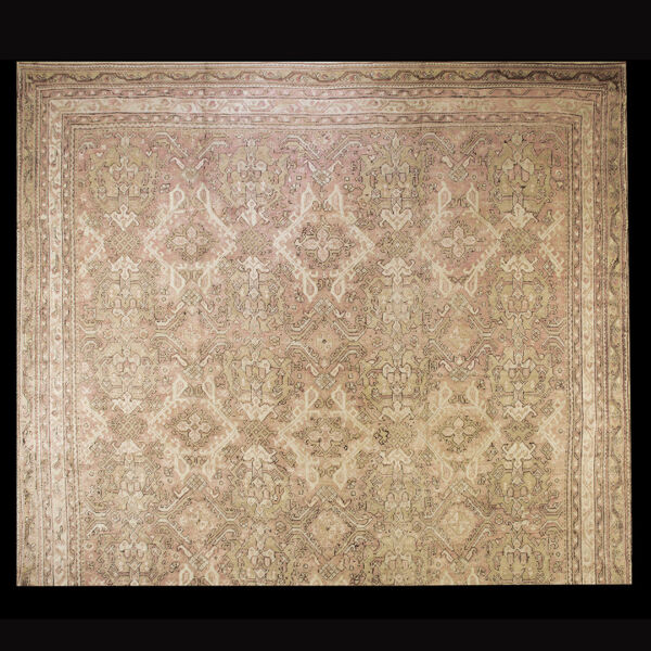 Antique Oushak Rug 15'8