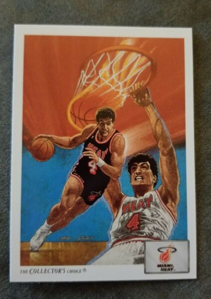Rony Seikaly Heat #80 Upper Deck Collectors Choice 1992 $0.99