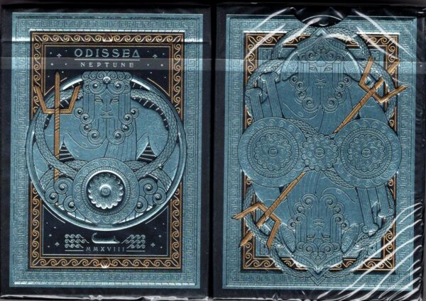 Odissea Minerva Playing Cards Poker Size Deck USPCC Custom Limited Sealed New