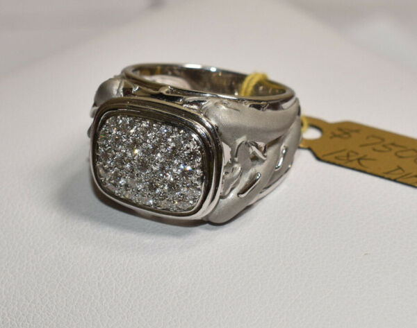 Carrera y Carrera Pod of Dolphins Diamond Ring in 18K White Gold