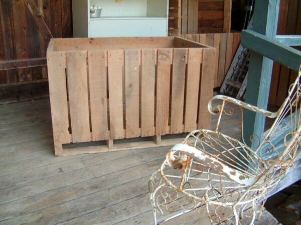 Oak Wood Apple Crates great Porch Swing from Appalachian Mountains 4 Ft X 3 Ft