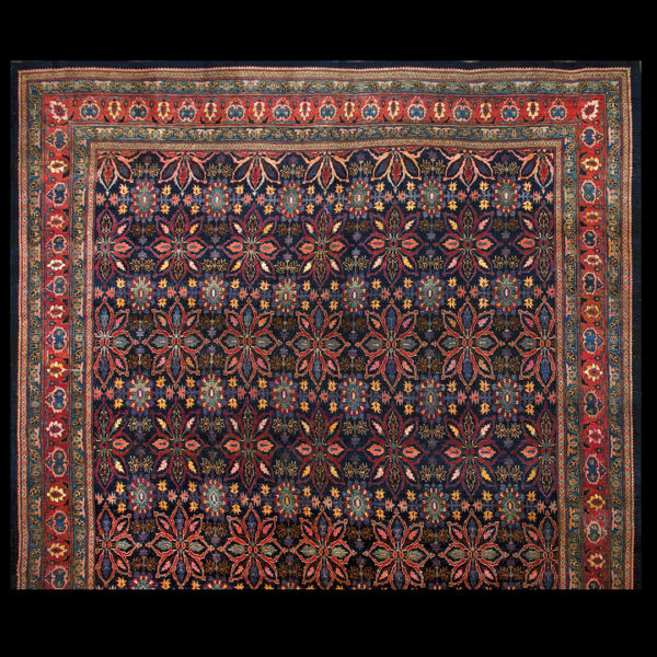 Antique Bijar Rug 15'8
