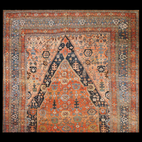 Antique Bijar Rug 15' x 25'9