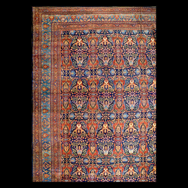 Antique Bijar Rug 18'8