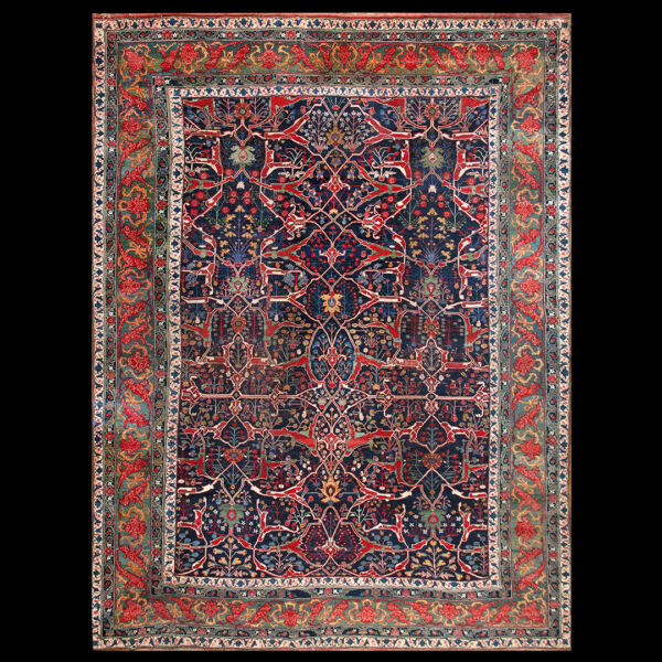 Antique Bijar Garous Rug 14'9