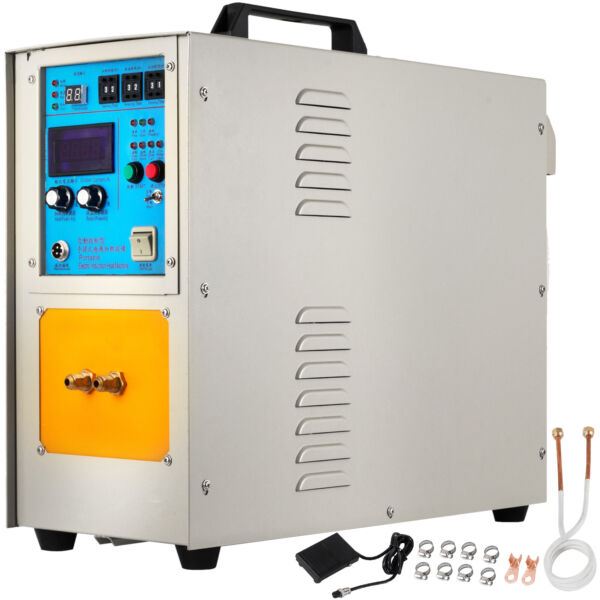 15KW 30-80KHz High Frequency Induction Heater Furnace LH-15A CE s