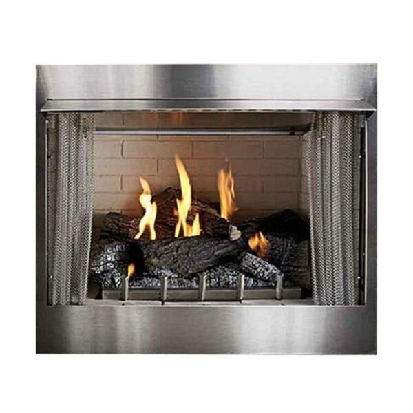 Outdoor Traditional 36 inch Premium Fireplace OP36FP72MN - Natural Gas
