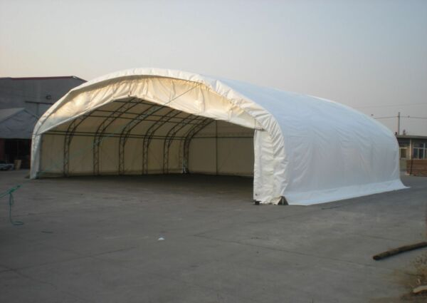 Aeroplane Hangar Portable Building Steel Framed Temporary Shelter Building
