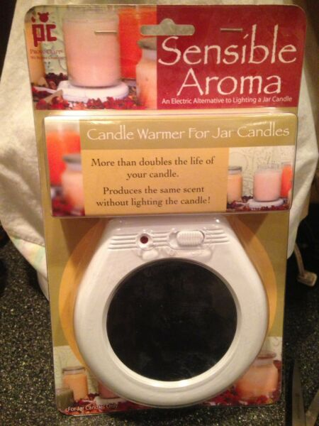 Sensible Aroma Candle Warmer Produces the Same Scent Without Lighting The Candle