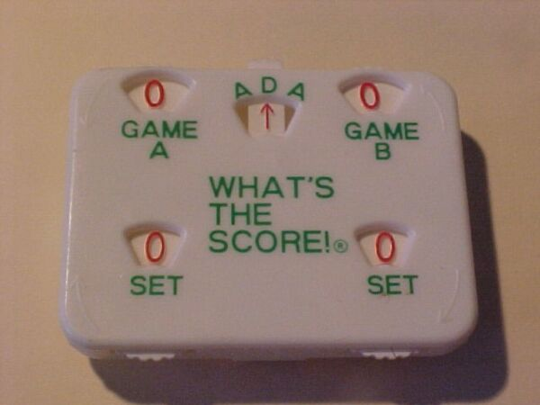 TENNIS SCORE KEEPER  GROUP OF 5 FREE SHIPPING
