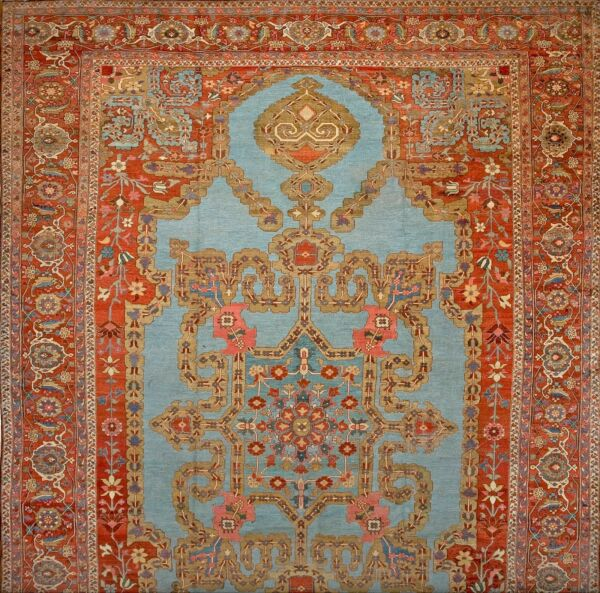 Antique Serapi Rug 14' x 20'