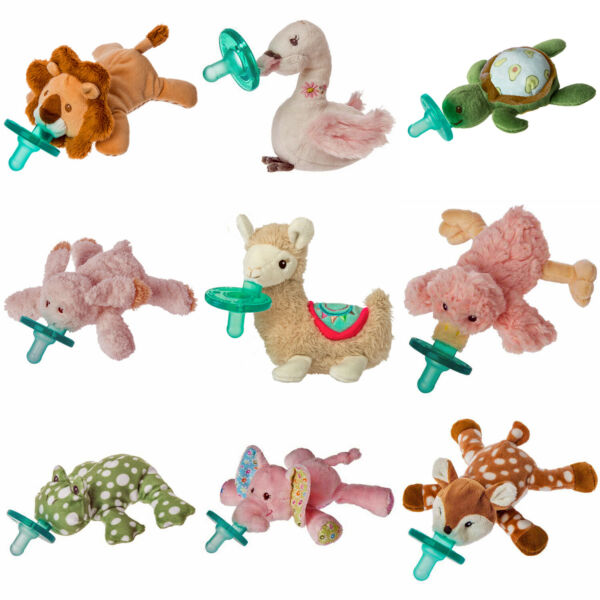 Wubbanub Soft Plush Toy and Infant Pacifier by Mary Meyer Select Your Favorite $17.49