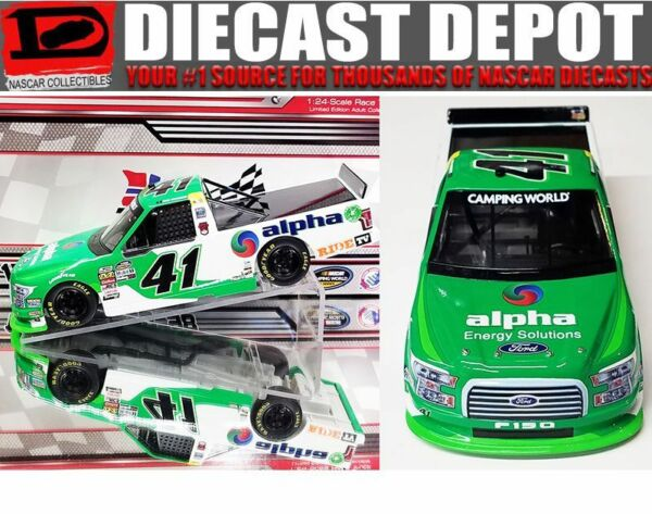 BEN RHODES 2018 ALPHA ENERGY SOLUTIONS F-150 124 SCALE ACTION  DIECAST TRUCK