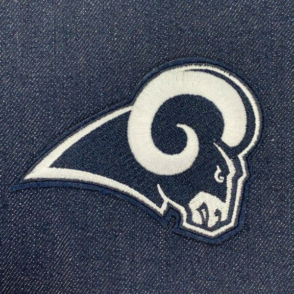 LOS ANGELES RAMS JERSEY PATCH IRON ON 3