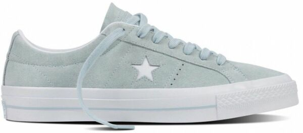CONVERSE ONE STAR SUEDE OX LOW POLAR BLUE WHITE WHITE 11 NEW