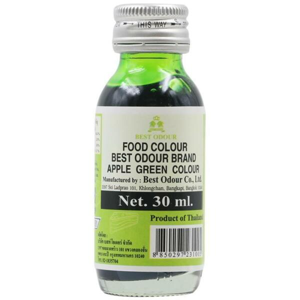 Food Colour Apple Green Extract Essence Food Desserts Cake Ice cream Candy 30ml.