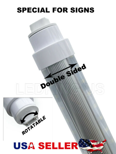 360 Degree T10 T12 7ft 65w R17DHO Base led Outdoor Tubes for Double Sided Sign