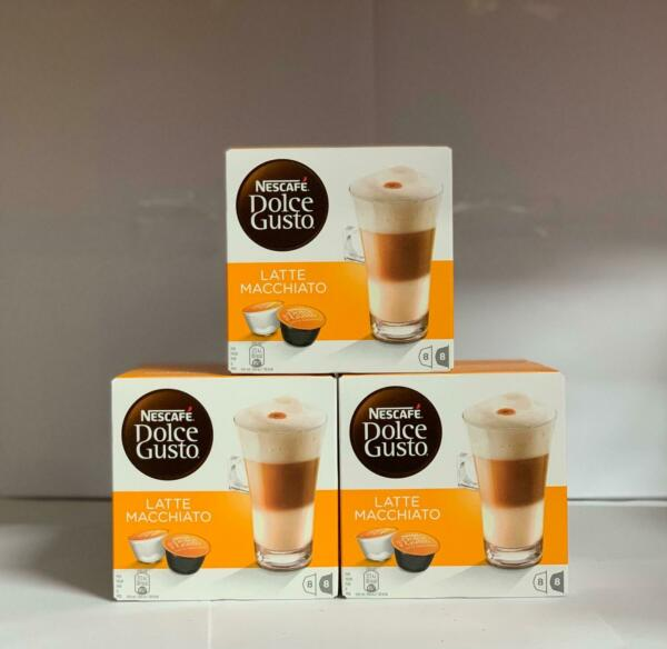 Nescafe Latte for Nescafe Dolce Gusto Machine 24 Drinks Packed 48