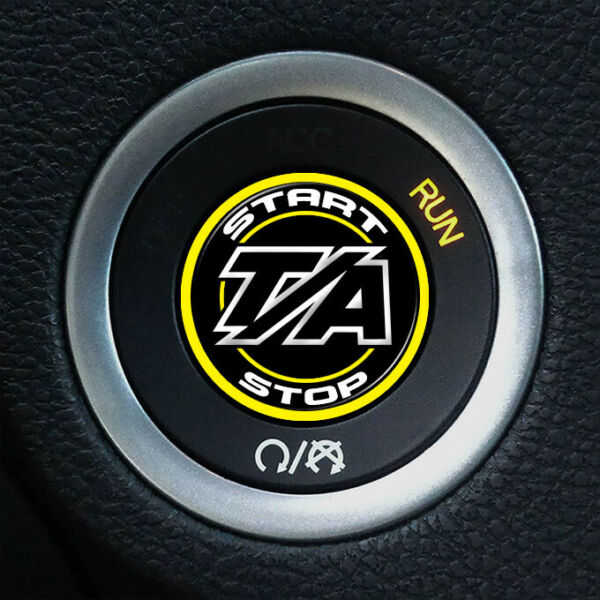 Ignition Start Button for Dodge Challenger TA Keyless Decal 211