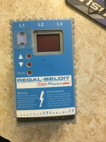 Regal Beloit Variable Frequency  Drive VFD Model T310 Spin Master