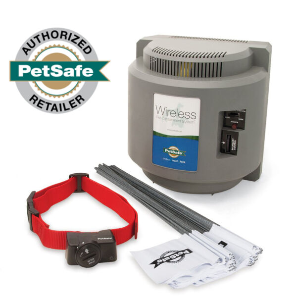 PetSafe Official PIF 300 Wireless Dog Fence Outdoor Containment System $279.95