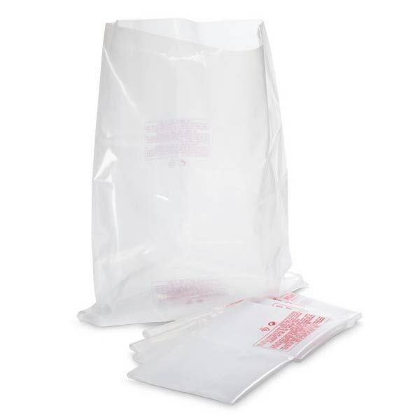 (5) Plastic Dust Collector Lower Bags for JET, Delta, Grizzly, others, 20