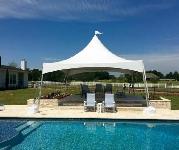 Aluminum Wedding Event Pool Yard Awning Canopy Pagoda Gazebo Marquee Tent NEW