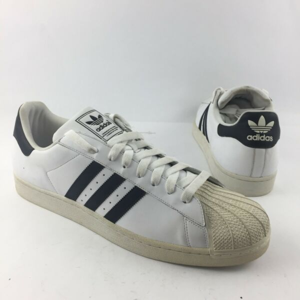 Adidas Superstar 19 US Originals Retro Leather Shell Sneakers Shoes G17068 Mens
