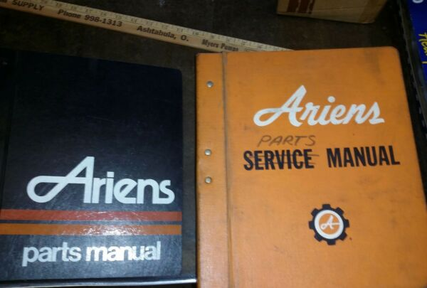 ARIENS Parts Manuals Dealer Owned