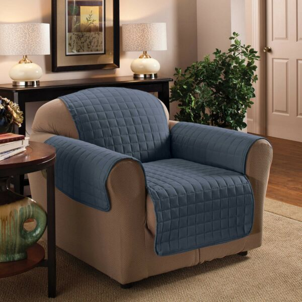 Innovative Textile Solutions Ultimate Furniture Protector Chair SLATE BLUE $20.99