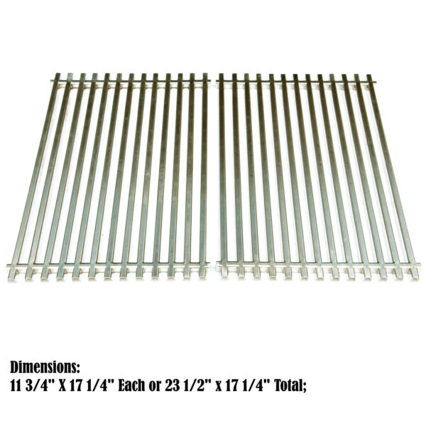 Heavy Duty Stainless Steel Grates Replacement for Weber Genesis Silver B