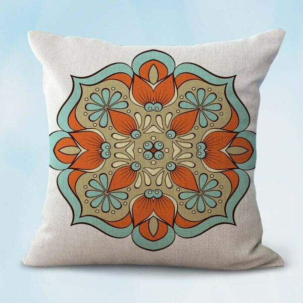 meditation yoga balance mandala cushion patio furniture cushion covers $14.96