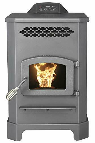 2200 Sq.Ft. King Mini Pellet Stove with 20 lb Hopper and Remote $1415.06