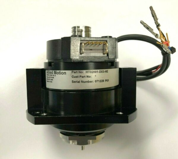 Allied Motion (Emoteq) SEMITOOL MOTOR (Part #: HT02001-D03-HE    T61105-30)