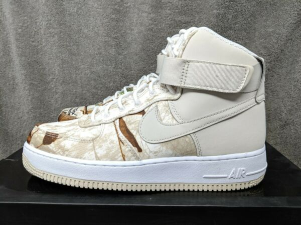 Nike Air Force 1 High '07 LV8 3 Men's Sz. 12 (AO2410 100) Realtree Camo