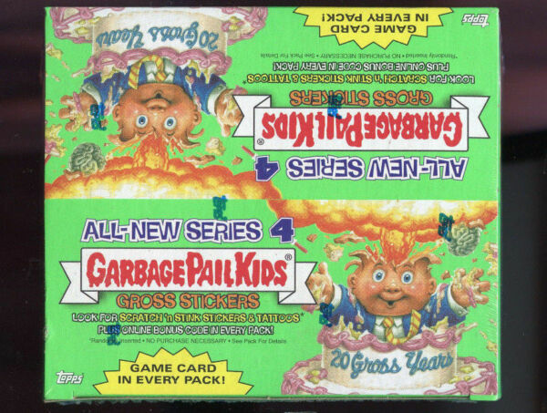 2005 Topps Garbage Pail Kids All-New Series 4 ANS Card Set GPK Wax Pack Box