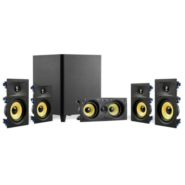 TDX 5.1 Surround Sound Home Theater System, 8