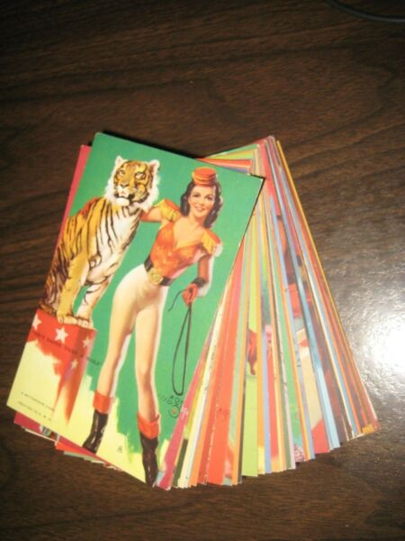 59 OF 64 MUTOSCOPE ARTIST PINUP ARCADE CARDS