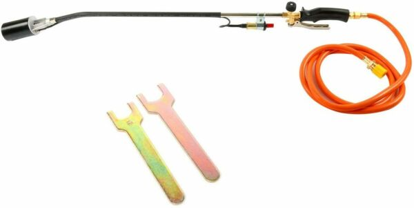 Push Button Igniter Propane Torch Wand Ice Snow Melter Weed Burner Roofing