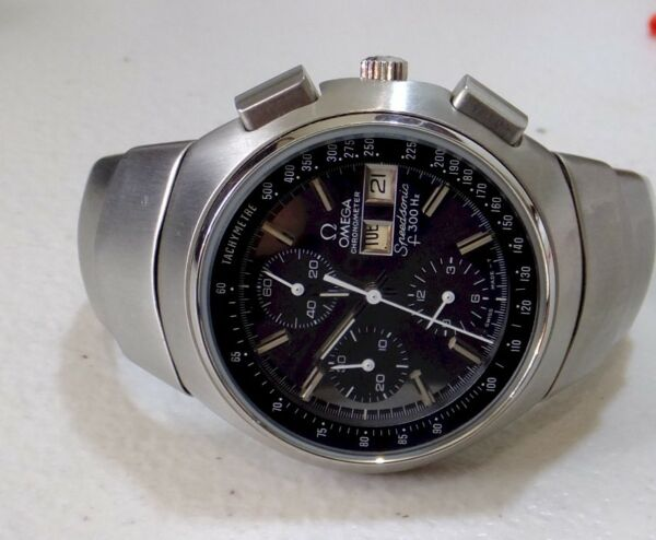 Vintage  Omega  Speedsonic Lobster fully refurbished bien Switzerland